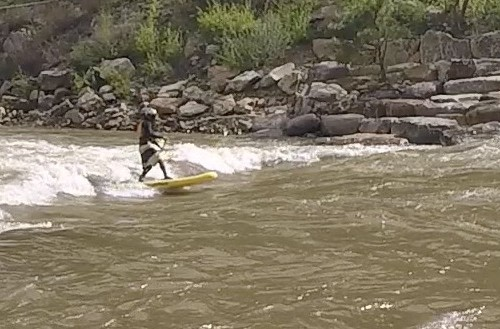 badfish irs (inflatable river surfer) SUP