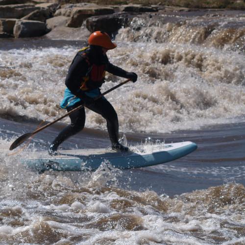 River Surfing Charles City Iowa