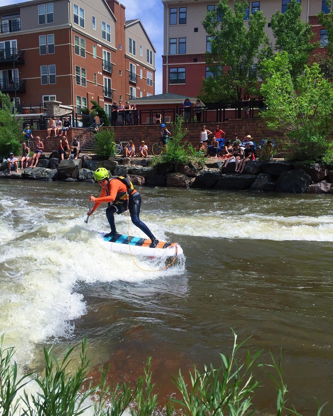 The Golden Games River Surf Comp