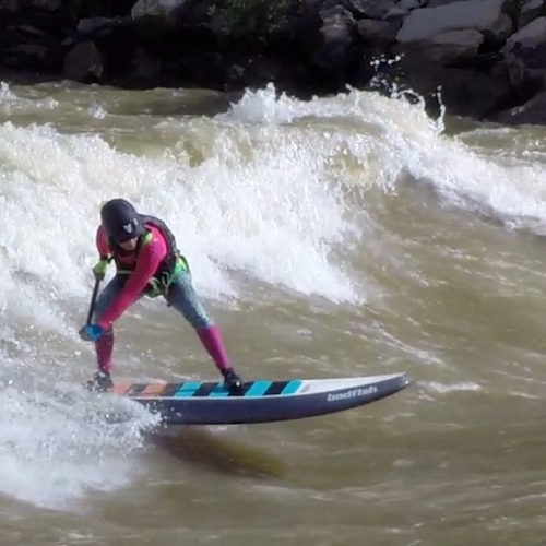 Animas River Days 2016, SUP River Surf Comp