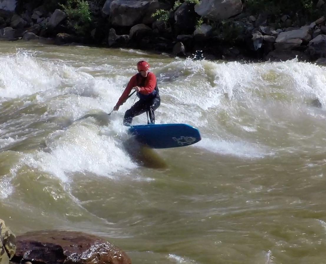 Animas River Days 2016, SUP River Surf Comp