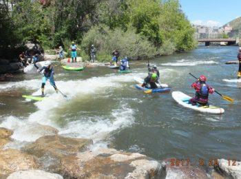 2017 Colorado SUP River Surf Championship Tour at Golden