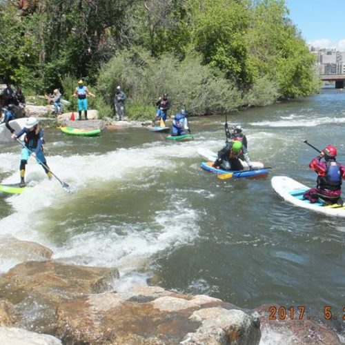 2017 Colorado SUP River Surf Championship Tour at Golden