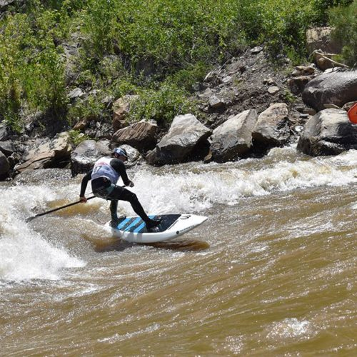 2017 Animas River Days Surfing